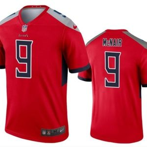 Tennessee Titans 9 McNair Limited Jersey